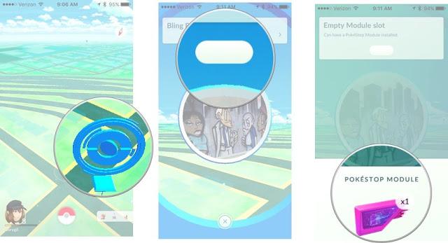 fungsi lure module pokemon go