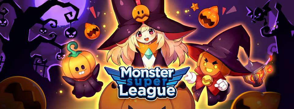 Monster Super League haloween