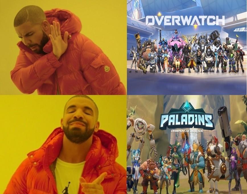 paladins vs overwatch 000