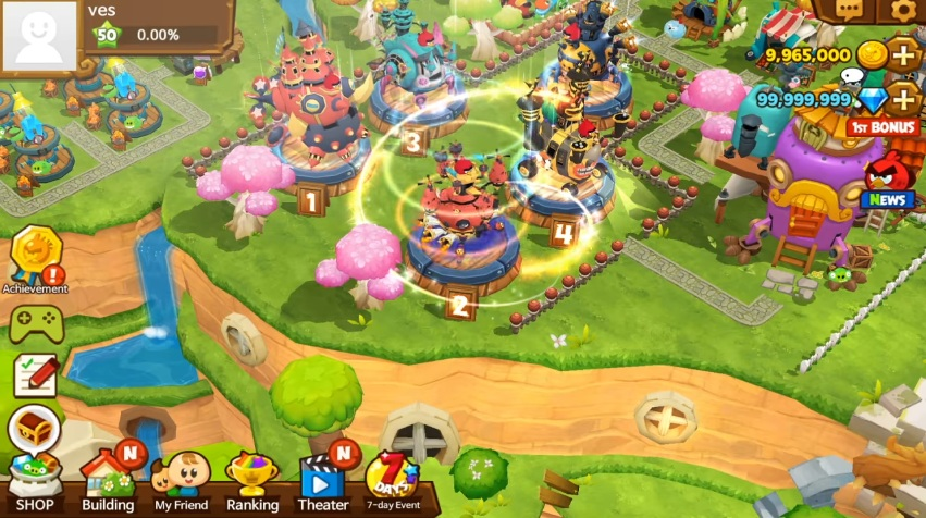 Angry Birds Islands29317-4