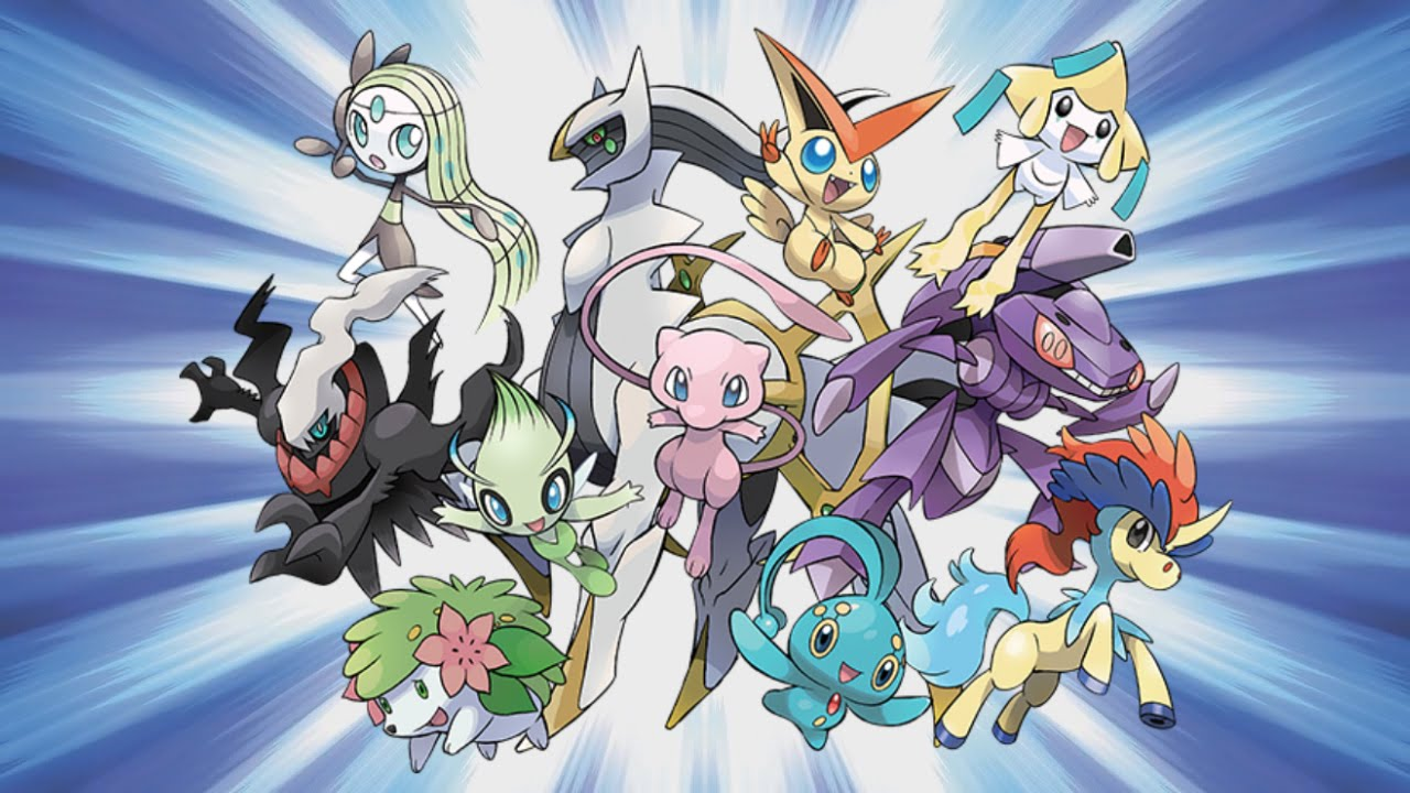 mythical-pokemon