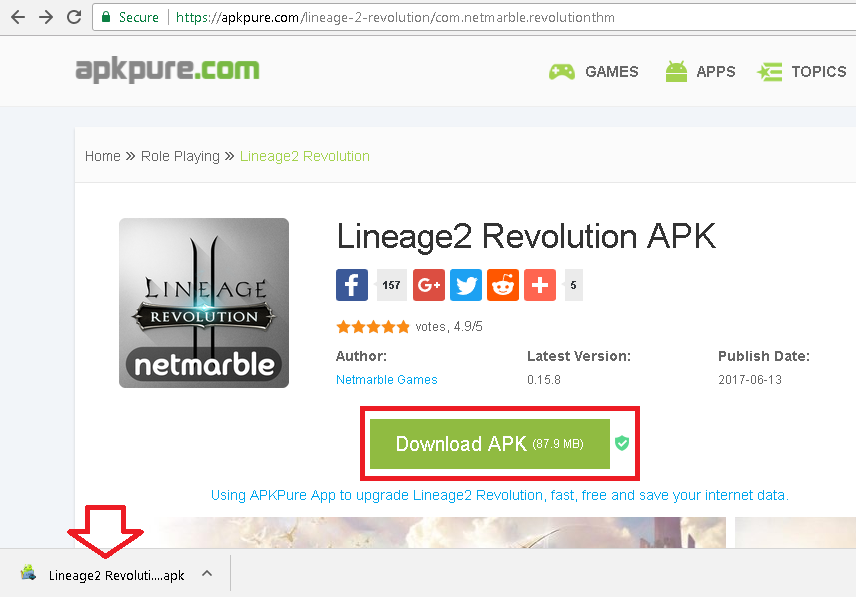 how to get lineage 2 revolution on nox