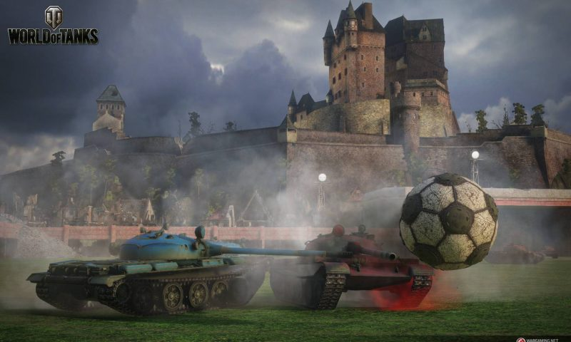 World of Tanks เจ๋ง! ชวนขับรถถังออกไปเตะบอล