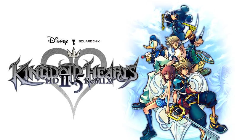 Kingdom Hearts 2.5 HD ReMIX ประกาศข่าววางจำหน่ายปี 2014