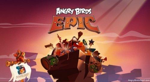 Angry Bird Epic นกพิโรธเวอร์ชั่น RPG ลงสโตร์แล้ว