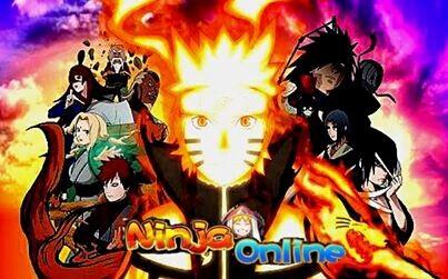 Ninja Online เกมส์การ์ดฉบับนินจานารูโตะ