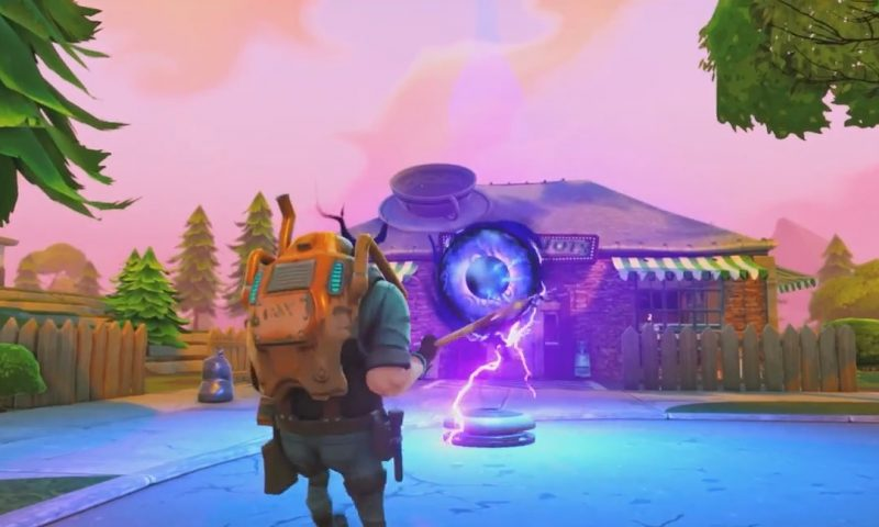 Fortnite โชว์คลิป Gameplay ภาพเจ๋ง
