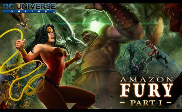 DC Universe Online ลงแพทช์ใหม่ Amazon Fury เริ่ม 2 ก.ย. 57 นี้