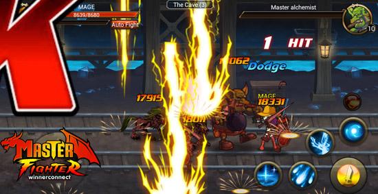 MasterFighter สุดยอดเกมส์ Action RPG บนมือถือเปิดให้โหลดแล้ววันนี้