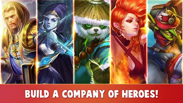 Heroes Charge เกมส์มือถือเอาใจคนรัก DotA