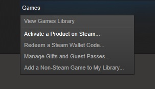 Steam-Key-activation
