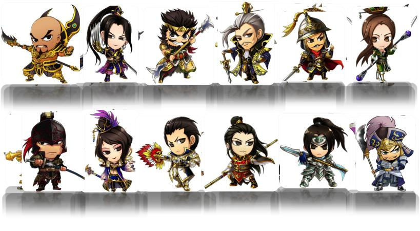 Chibi Warriors เกมส์ใหม่ค่าย GMThai