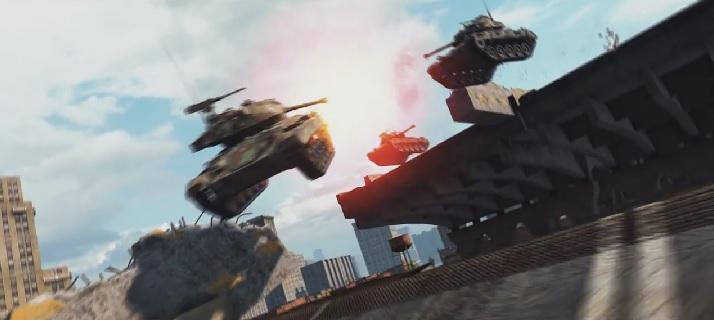 สนามแข่งรถมีหนาว World of Tanks เพิ่มโหมด Rally