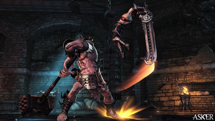 สมราคา Asker ปล่อยคลิปเกมส์เพลย์ Assassin ปะทะ Gladiator