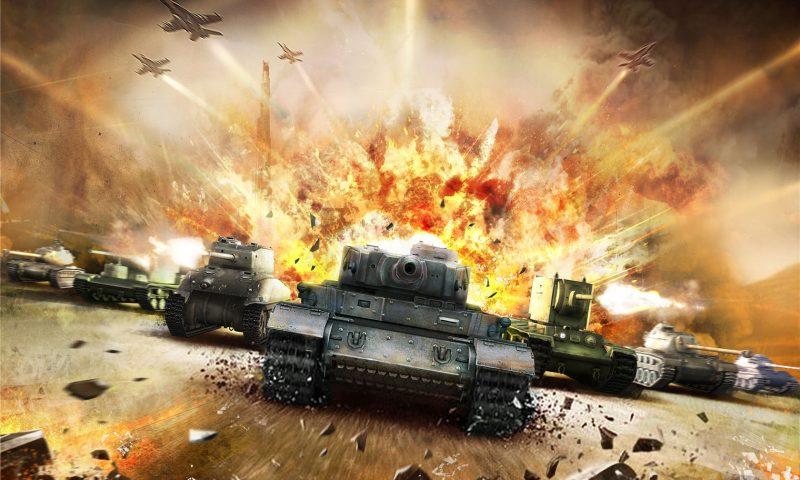 มันส์ระเบิด King of Tanks: 3D Arena เปิดโหลดปลายเดือนนี้