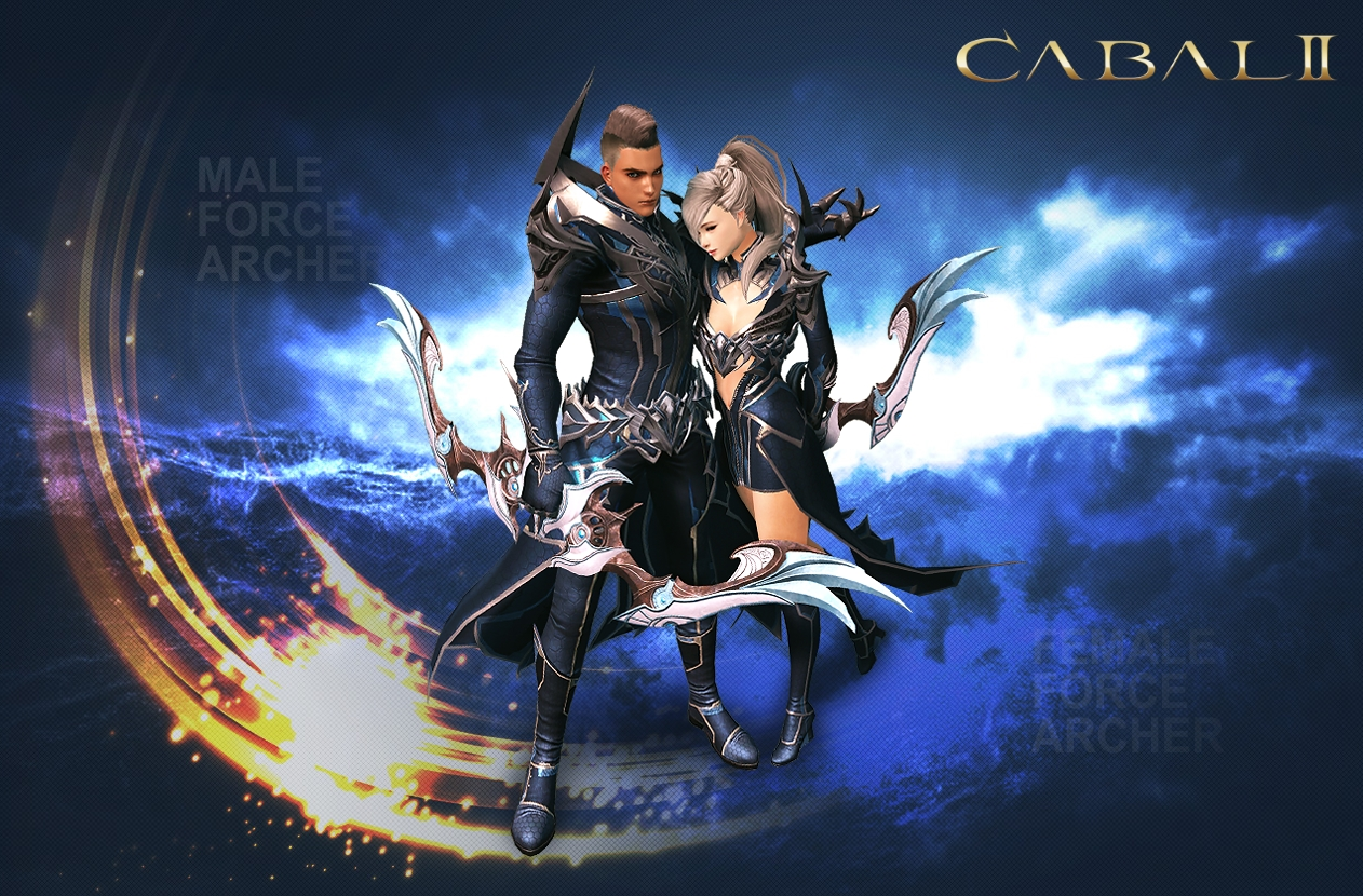 Cabal-II-Male-and-female-force-archer-class