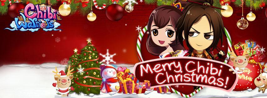"""ฉลองวันคริสต์มาส Chibi Warriors พร้อมเปิด """"ระบบปีก"""""""