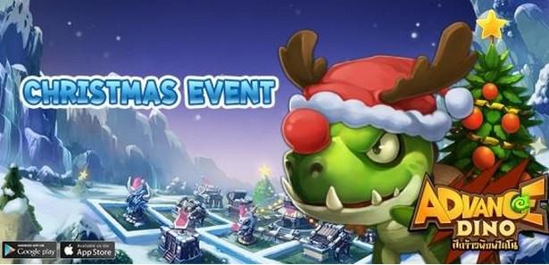 Advance Dino ศึกจ้าวพิภพไดโน กับด่านสุดพิเศษ Christmas Event