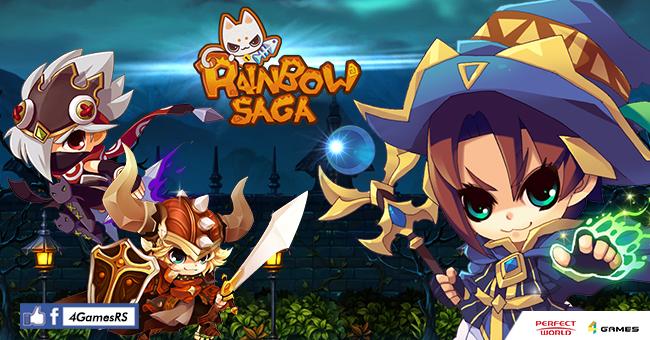 Rainbow Saga เปิดเว็บไซต์หลักพร้อม Game Trailer ยั่วน้ำลายก่อน CBT