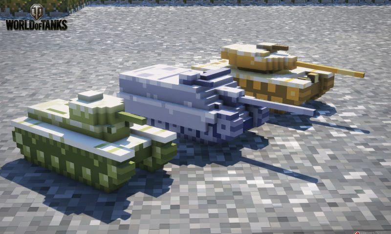 World of Tanks เอาใจคอเกมส์ 8 บิต อัพโหมด Winter Showdown