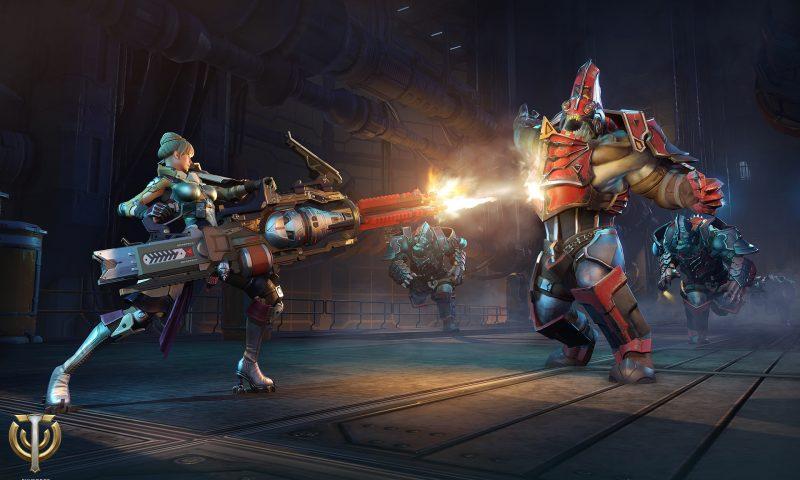 กระหึ่ม Skyforge เปิดตัวคลาสใหม่  Gunner โคตรคนปืนระห่ำ