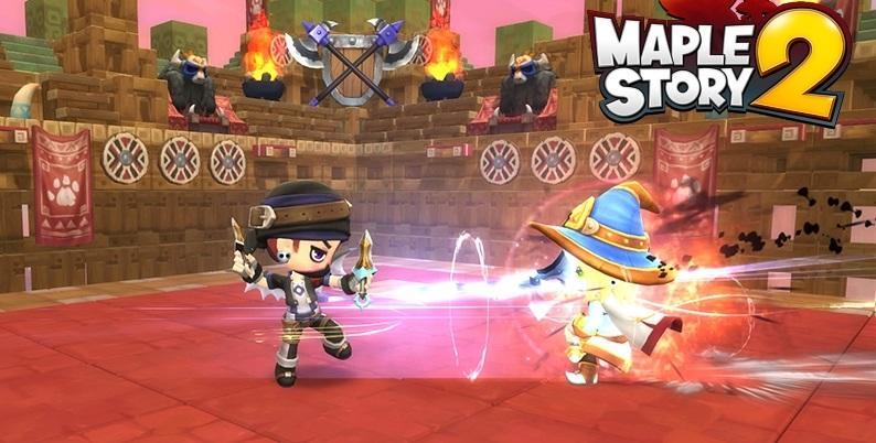 โหมกระแส CBT เกมส์สุดแบ๊ว MapleStory 2 เผยโหมดลูกผสม PvPvE