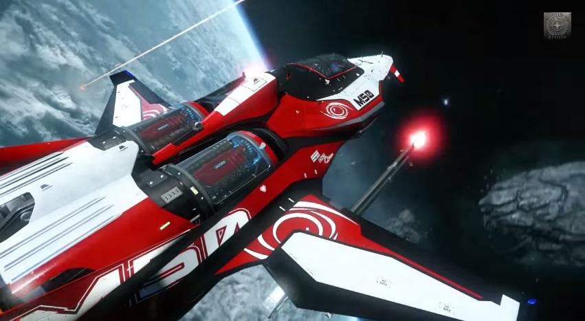 สุดฟิน Star Citizen ปล่อยคลิปฉากไล่ล่าบนอวกาศ มันส์โคตร