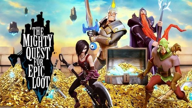 MMO สุดโหดฮา The Mighty Quest for Epic Loot โหลดได้แล้วบน Steam