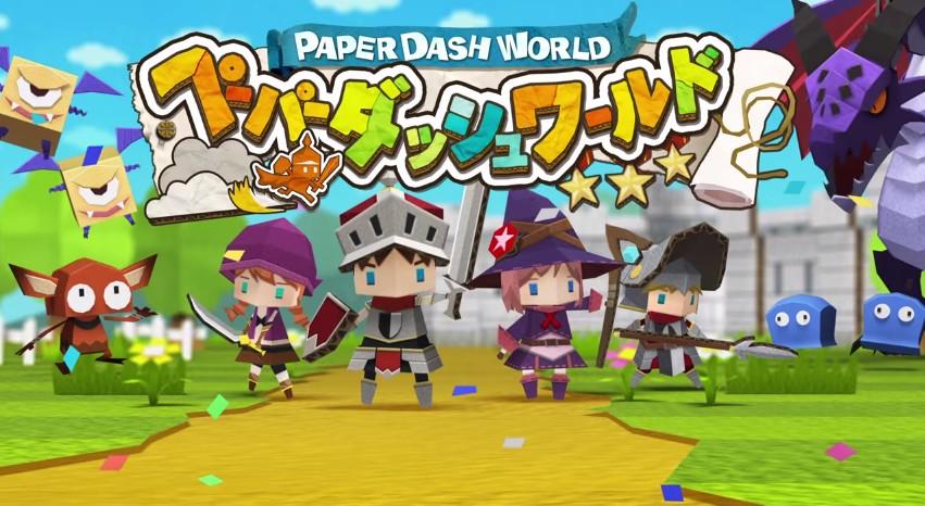 LINE Paper Dash World เกมส์วิ่งสู้ฟัด ตะกูลไลน์