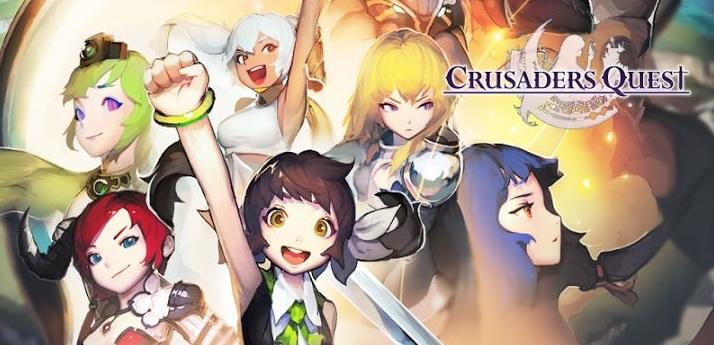 Crusaders Quest แรงส์ทะลุปรอท ทำยอดโหลด 7 ล้านครั้ง!