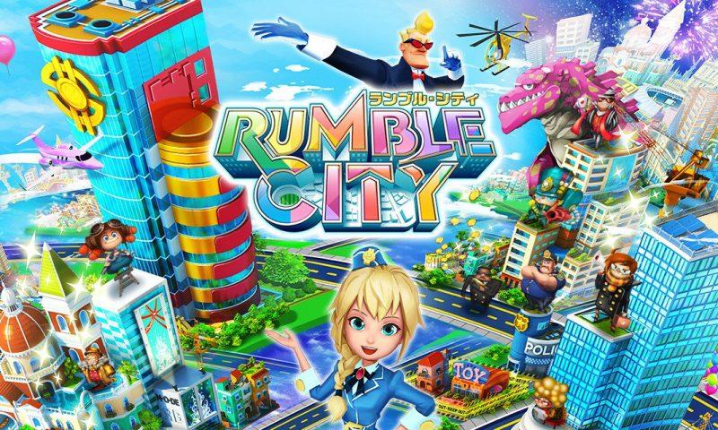 ปล่อยโหลดแล้ว Rumble City สงครามสร้างเมืองในฝัน 4v4