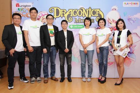 เอเชียซอฟท์ จับมือ LINE เปิดตัวเกมส์ใหม่ LINE Dragonica Mobile