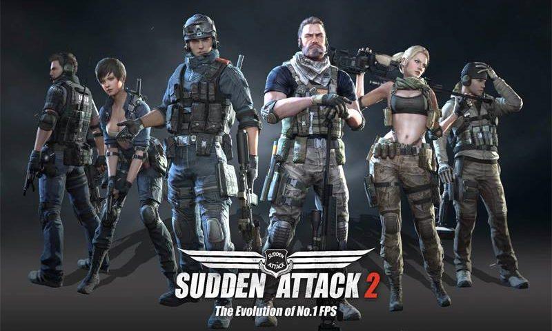 Sudden Attack 2 ส่ง 2 สาวสวยดุดันมาสอยหัวใจหนุ่มๆ