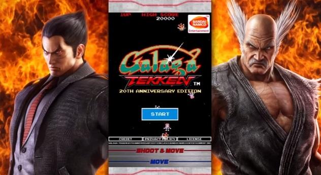 Galaga:TEKKEN Edition เกมส์ยิงสุดเฟี้ยวฉลองครบ 20 ปี Tekken