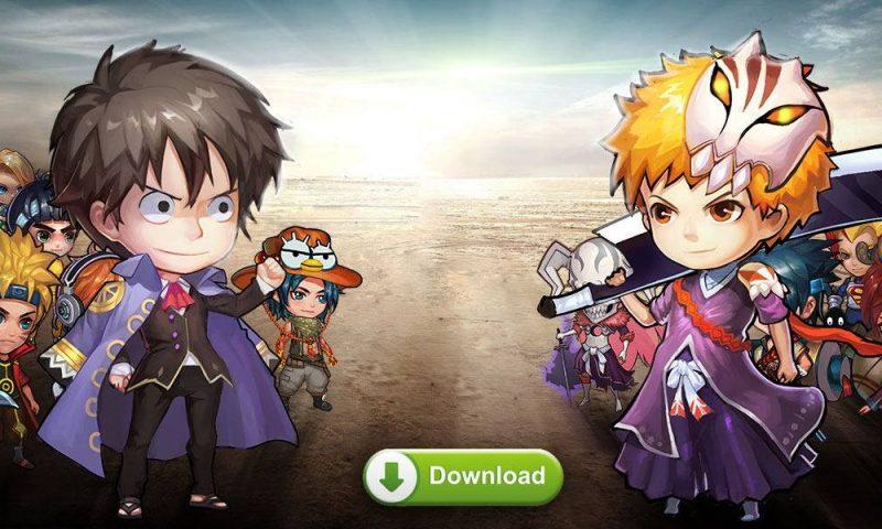 Hero World สงครามการ์ตูนญี่ปุ่นเวอร์ชั่น iOS ลงสโตร์แล้ว