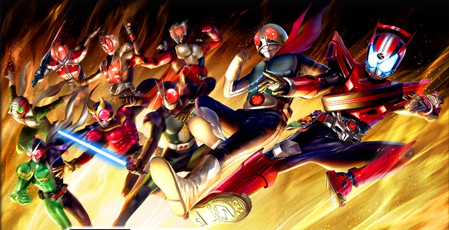Kamen Rider: Storm Heroes ยกแก๊งค์คาเมนไรเดอร์ลงสโตร์