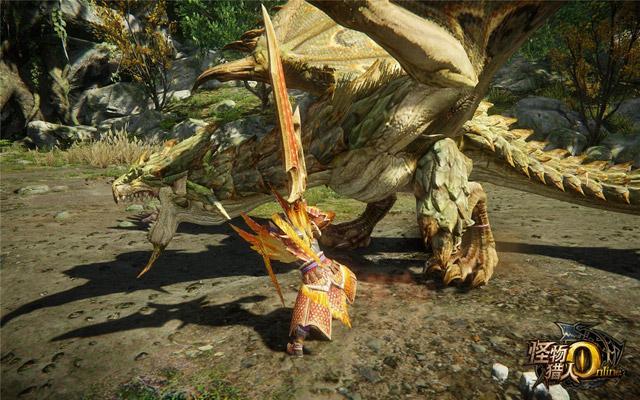 อัพเดทใหม่ Monster Hunter Online เปิดโซนล่าอสูรยักษ์ Moonrise Desert