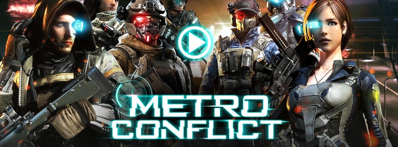 Metro Conflict สงครามโลกอนาคต เล็งเป้าเปิด OBT 29 มิ.ย. นี้