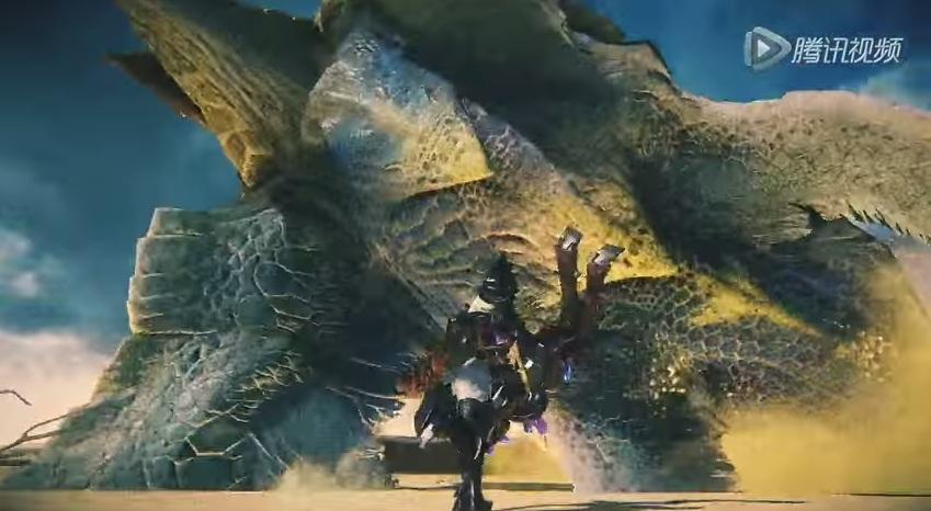 Monster Hunter Online โชว์โหดข่มขวัญเผยโฉมมังกรโบราณ