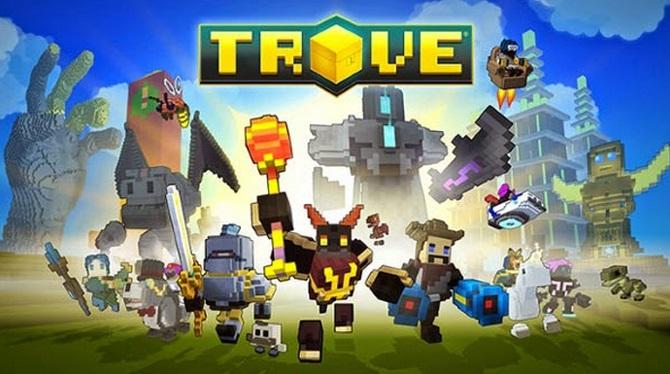 Trove เกมส์สไตล์ Minecraft ได้ฤกษ์ให้บริการอย่างเป็นทางการแล้ว