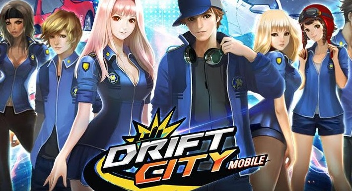 Drift City Mobile เกมส์แข่งรถแรงทะลุจอ เปิด Pre-register ให้จองสนามแล้ว