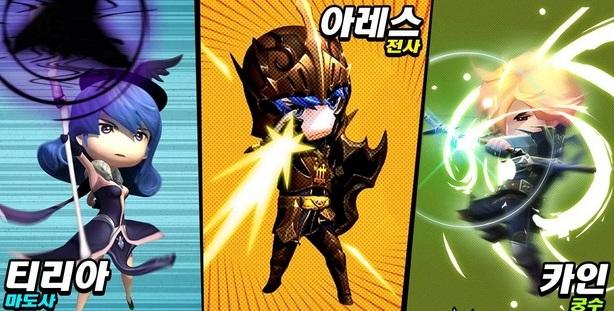 Hero X Hero เกมส์มือถือ Hack & Slash ARPG บน Android