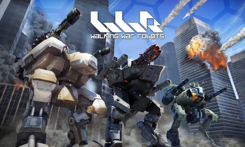 Walking War Robots  อัพเดทใหญ่เสริม Map ใหม่สุดฟิน