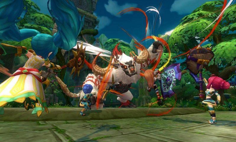 Dragomon Hunter ปล่อยคลิปโชว์สกิลต่อสู้ของ Scout และ Mage