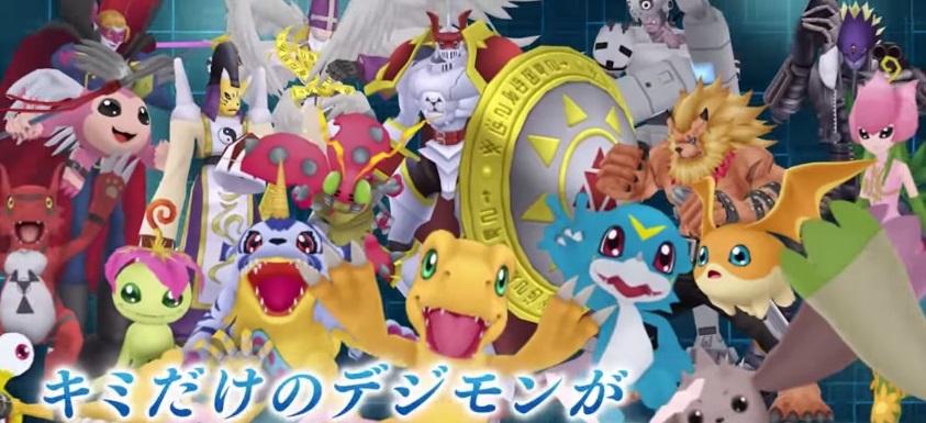 Digimon Linkz ส่งคลิป Gameplay ตัวแรกมาให้ชม