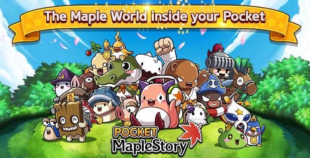 Pocket MapleStory เวอร์ชั่น Eng โหมโรงเปิด Soft Launch บางประเทศ