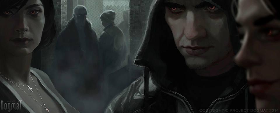 Dogma: Eternal Night เกมส์แวมไพร์ MMORPG เปิดตัวบน Kickstarter