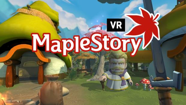 MapleStory VR เกมส์สุดล้ำว่าที่เด็กใหม่ของ Nexon