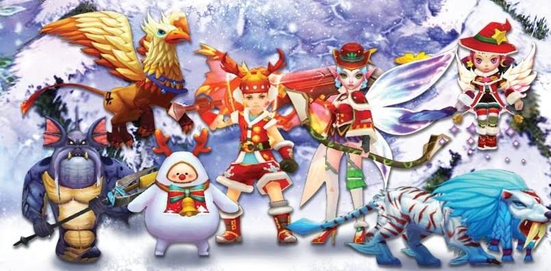 EDEN Avalon legends อัพแพทช์ส่งท้ายปีด้วยชุดคริสมาสต์ และสัตว์เลี้ยง