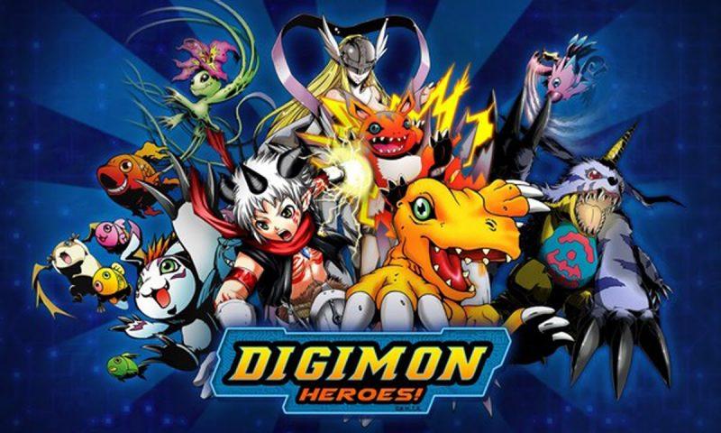 Digimon Heroes! แอพเกมส์จับคู่การ์ด 3 สุดมันส์ ลงสโตร์แล้ว